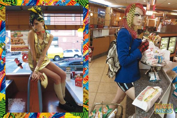 Съёмки: Стивен Майзел и Паоло Роверси для итальянского Vogue. Изображение № 12.