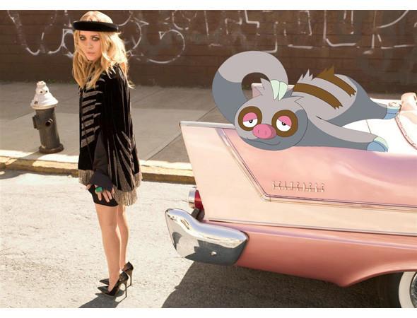 Фэшн-иллюстрация: Мода и покемоны. Изображение № 6.