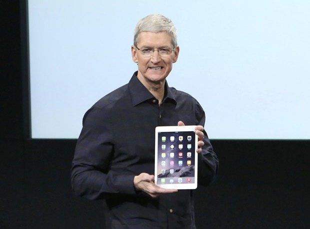 Тим Кук на презентации iPad Air 2. Изображение № 1.