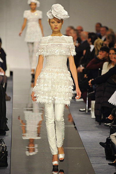 Chanel Spring 2009 Haute Couture. Изображение № 13.