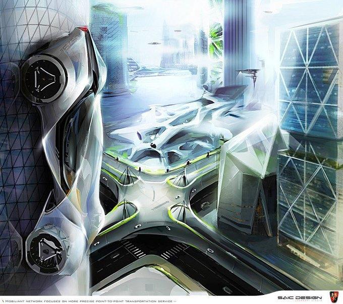SAIC Motor представил концепцию машины-муравья. Изображение № 4.