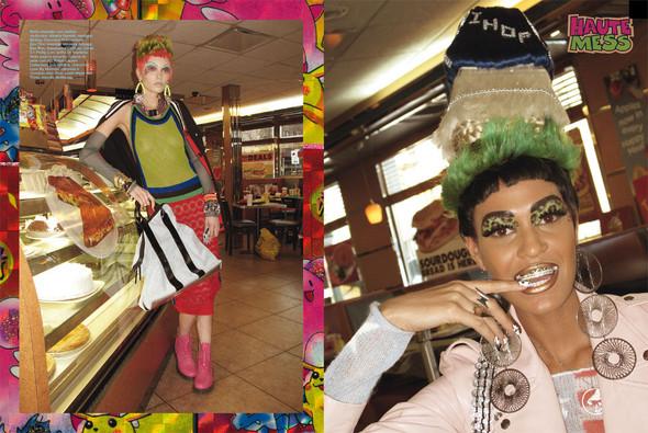 Съёмки: Стивен Майзел и Паоло Роверси для итальянского Vogue. Изображение № 7.