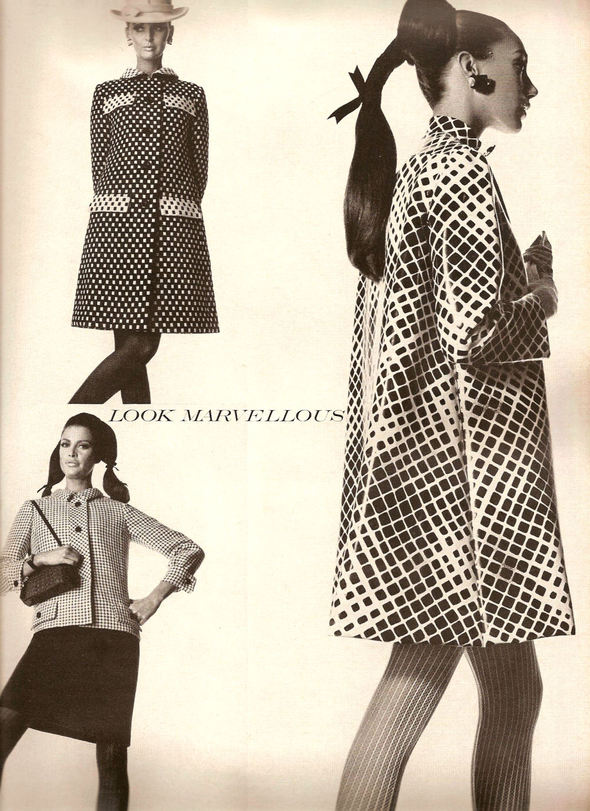 «Выгляди великолепно» каквVogue 1967 года. Изображение № 11.