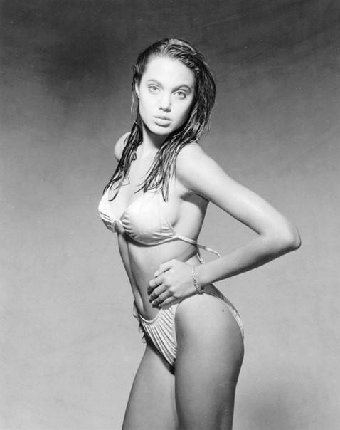 Первая фотосессия Анджелины Джоли. 1989 год. Изображение №9.