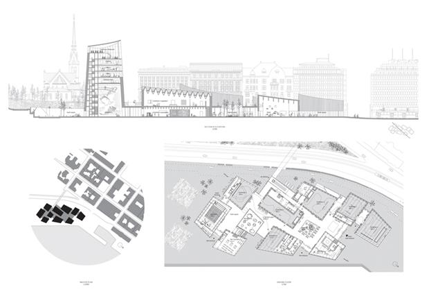 Показан проект Музея Гуггенхайма в Хельсинки . Изображение № 12.