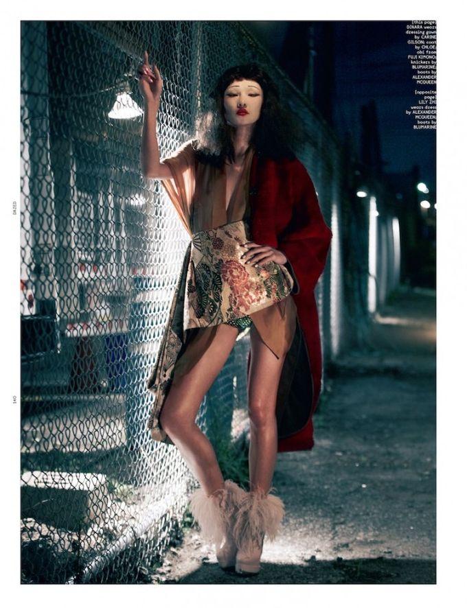 Dazed & Confused, Fat, Vogue и другие журналы выпустили новые съемки. Изображение № 69.