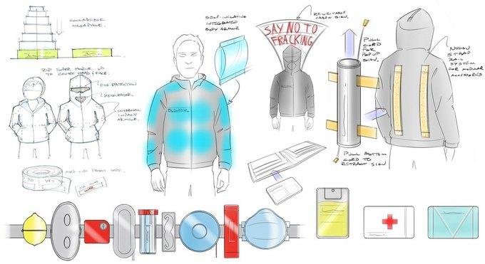 Дизайнеры создали инструменты для митингующего. Изображение № 1.