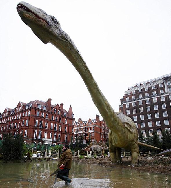 """""""Dinosaurs unleashed"""" или динозавры в Лондоне. Изображение № 9."""