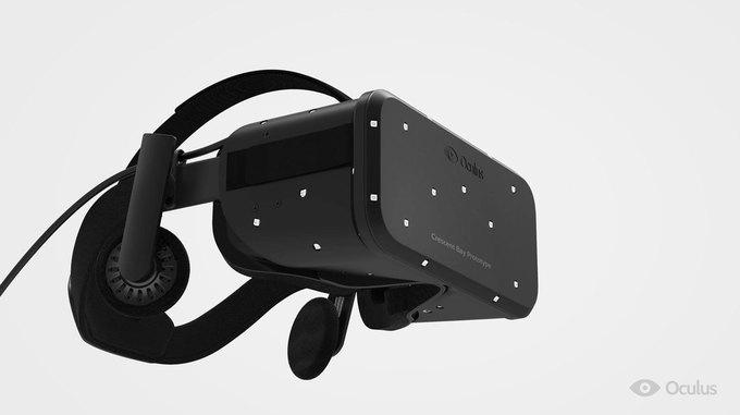 Представлен новый прототип очков виртуальной реальности Oculus Rift. Изображение № 1.