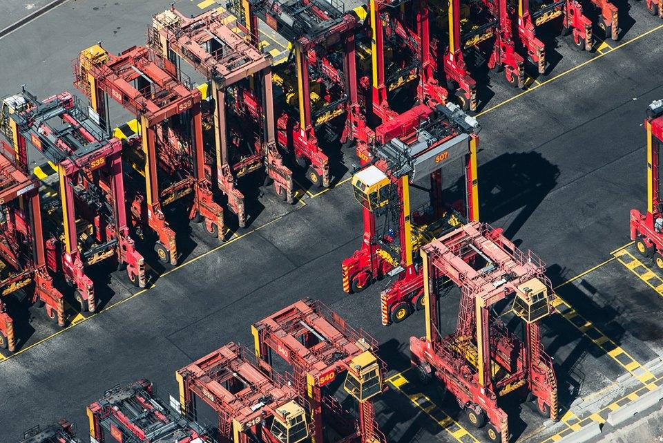 Фото: промзона Мельбурна, снятая свертолёта. Изображение № 21.