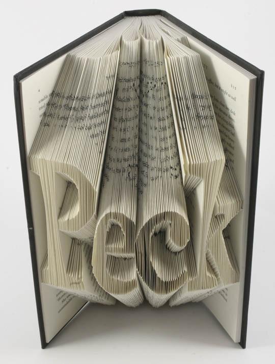 Изображение 3. Скульптуры из книг.. Изображение № 3.