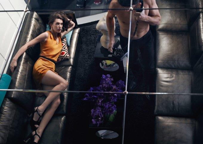 Alexander McQueen, Celine и LUBLU Kira Plastinina показали новые кампании. Изображение № 27.