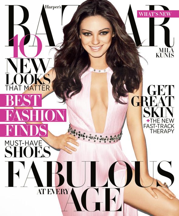 Обложки за апрель: Vogue, Harper's Bazaar, Numéro и др. Изображение № 7.