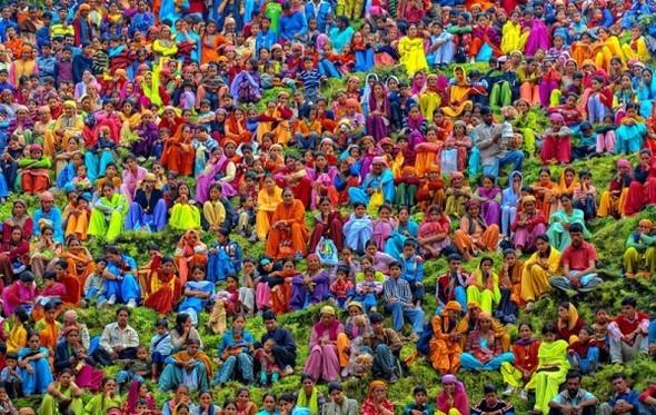 Торжество цвета. Poras Chaudhary. Изображение № 1.