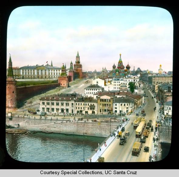 Изображение 8. Москва в цвете 1920-30х годов.. Изображение № 6.