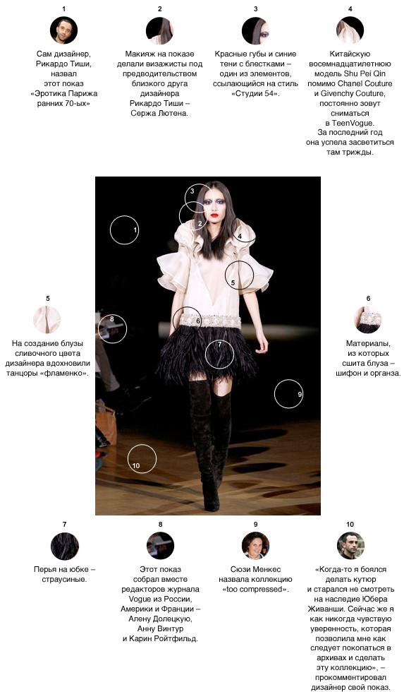 Напоказ: Givenchy Couture SS'10. Изображение № 1.