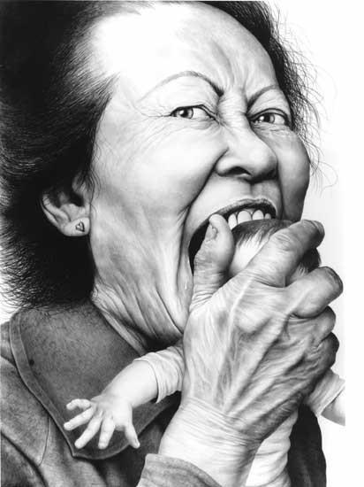 Laurie Lipton «Сюрреализм внутри нас». Изображение № 1.