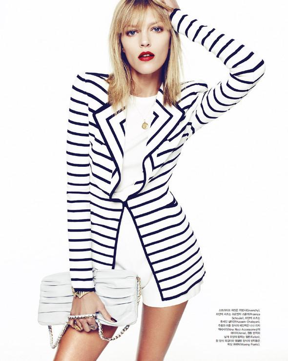 5 новых съемок: Elle, Harper's Bazaar, Numero и Vogue. Изображение № 47.