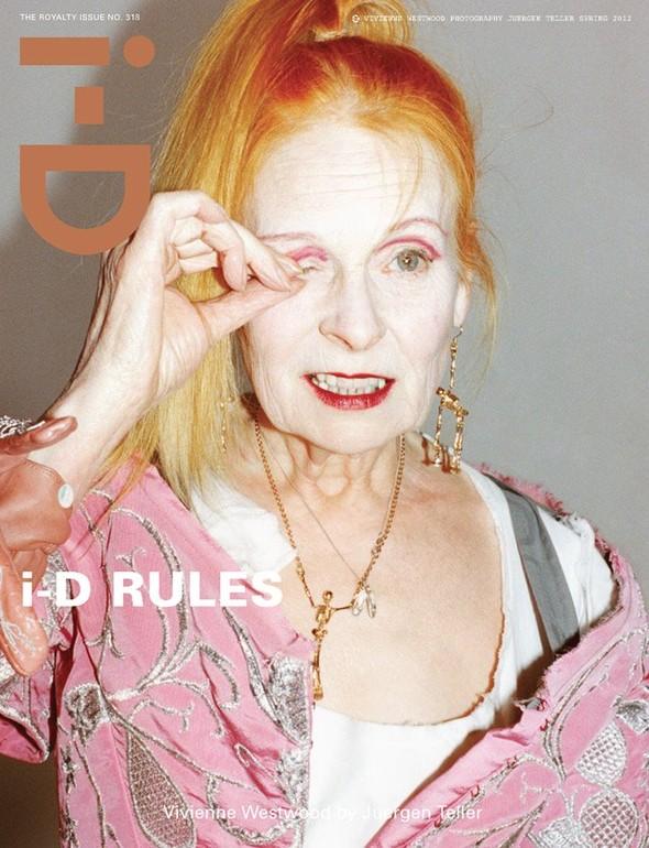 Обложки: i-D, Harper's Bazaar и Vogue. Изображение № 3.