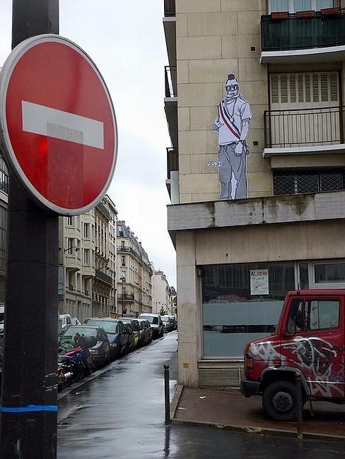 Стрит-арт в Париже. Изображение № 3.