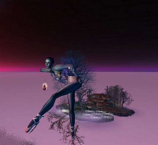 Космический психодел и странные образы одиночества в 3D-исполнении. Изображение № 1.