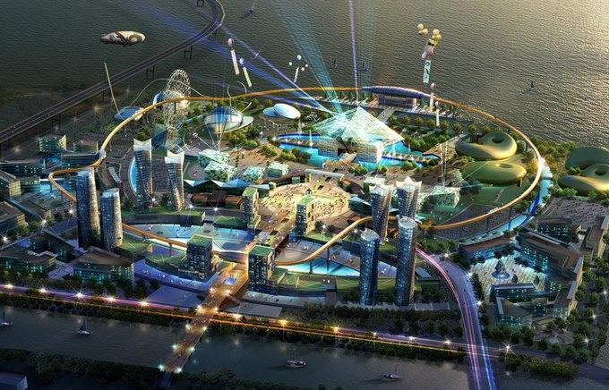 Южная Корея обещает открыть Роболенд уже в 2016 году. Изображение № 1.