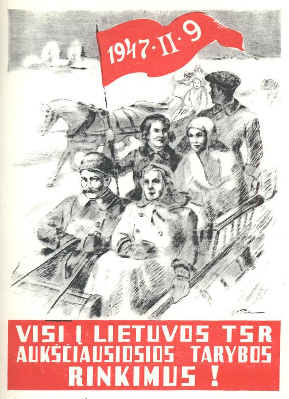 Искусство плаката вРоссии 1945–1953гг. Изображение № 37.