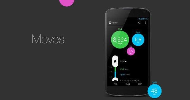 Facebook купил фитнес-приложение Moves. Изображение № 1.