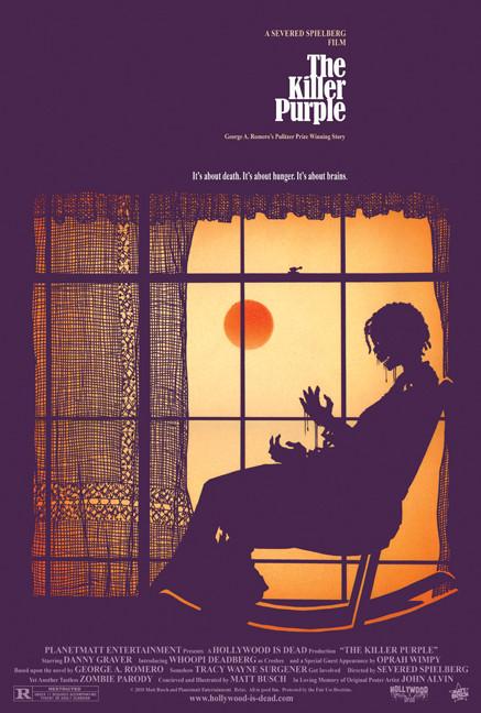 15 зомби-постеров известных фильмов. Изображение № 5.
