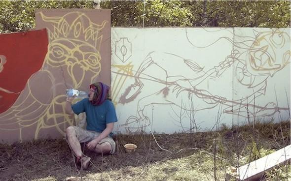 Стас Каневский: граффити во плоти. Изображение № 10.