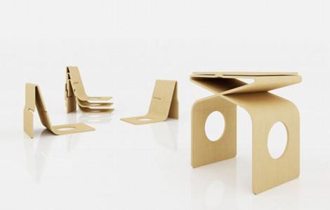 Мебельный минимализм Востока (Miso Soup Design). Изображение № 3.