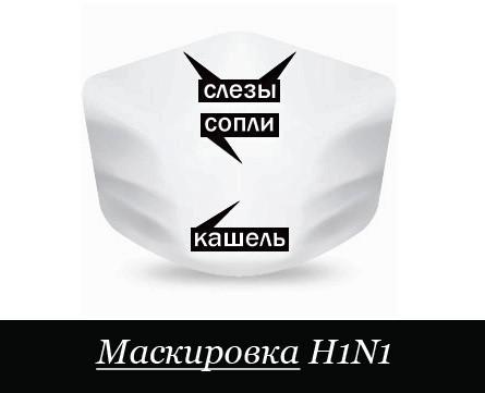 Маскировка H1N1. Изображение № 1.