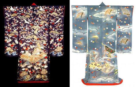 """Кимоно периода """"мэйджи"""" (1868-1912) из коллекции Музея Виктории и Альберта.. Изображение № 4."""
