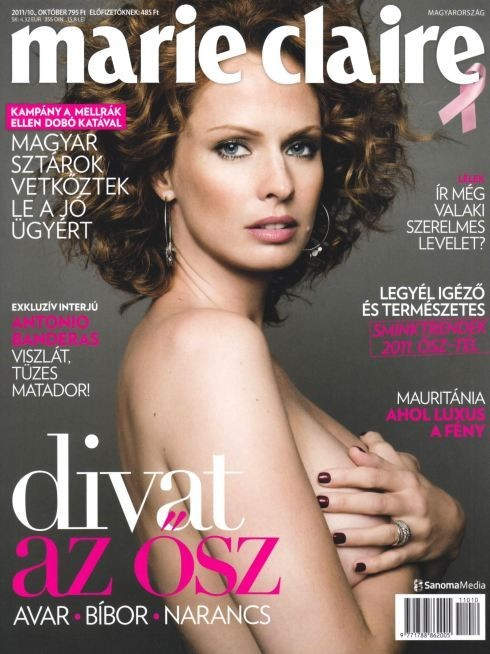 Обложки октября: Elle, Marie Claire, Interview и другие. Изображение № 15.