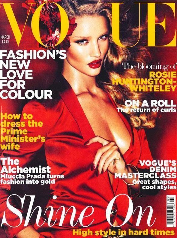 Изображение 2. Обложки Vogue: Британия, Австралия и другие.. Изображение № 1.