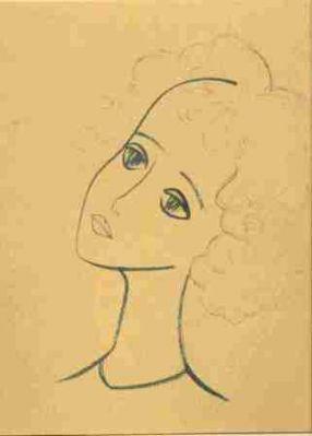 Надя Рушева. Маленькая принцесса. Изображение № 10.