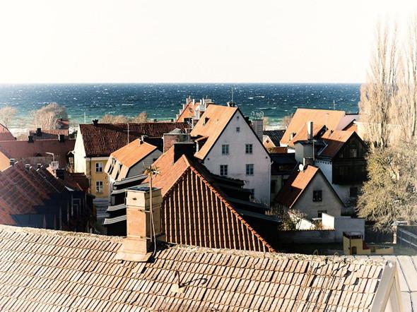 Вид на крыши Висбю. Изображение № 24.
