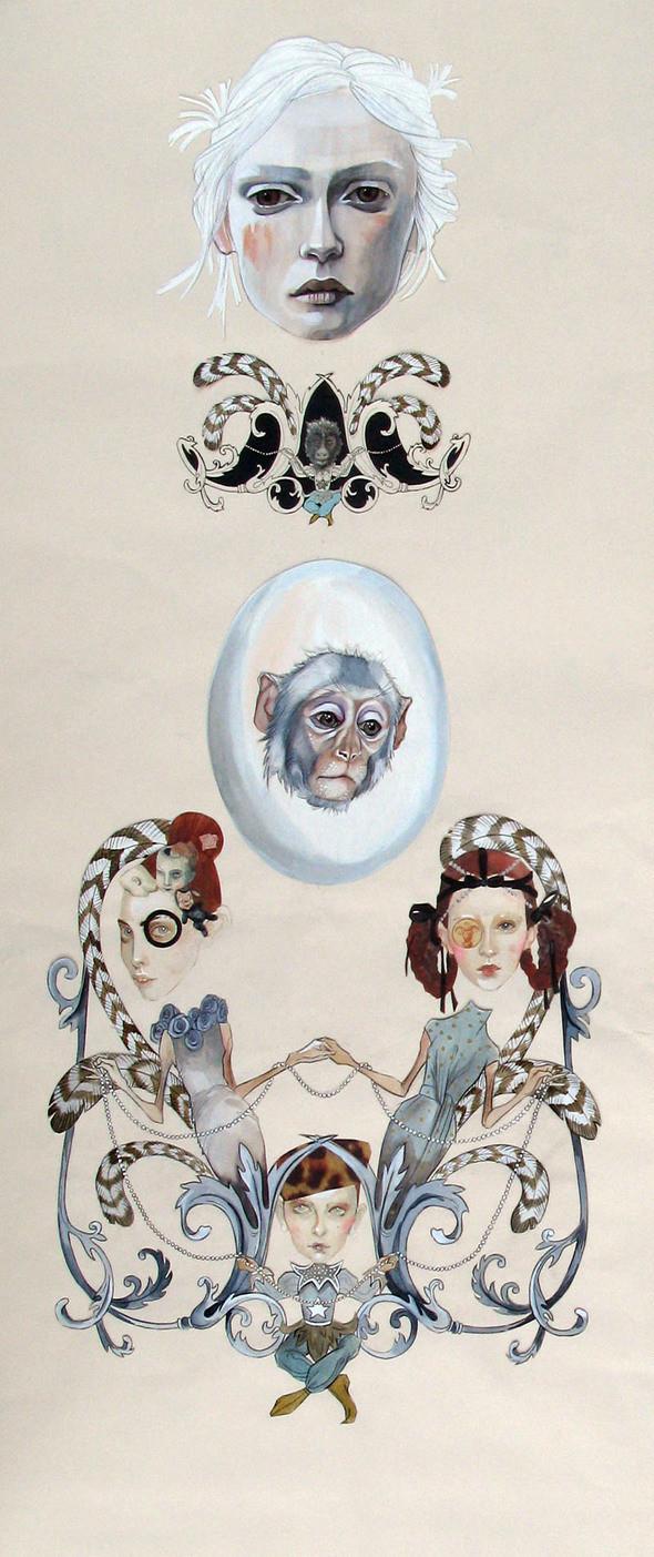 Изображение 21. Fashion-иллюстрационация от Anne Sofie Madsen.. Изображение № 21.