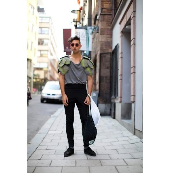 Луки с недель моды в Копенгагене и Стокгольме. Изображение № 47.