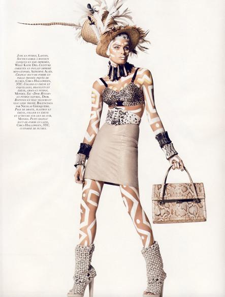 Vogue French November 2009. Изображение № 6.