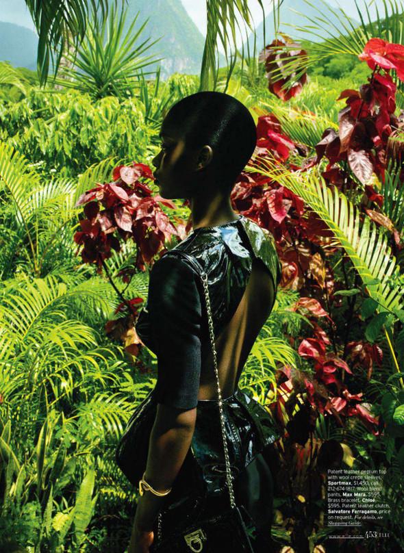 Съёмка: Дженейл Уильямс для Elle. Изображение № 5.