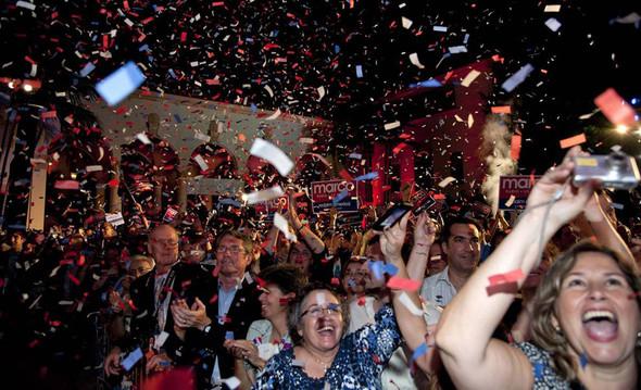 100 лет выборов в документальных фотографиях. Изображение № 152.