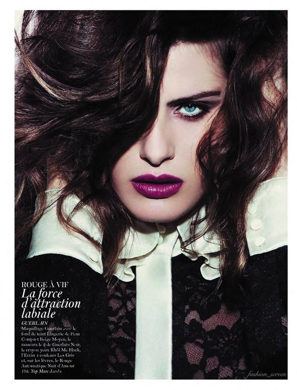 Съёмка: Аризона Мьюз, Каролина Куркова, Наташа Поли и другие для французского Vogue. Изображение № 8.
