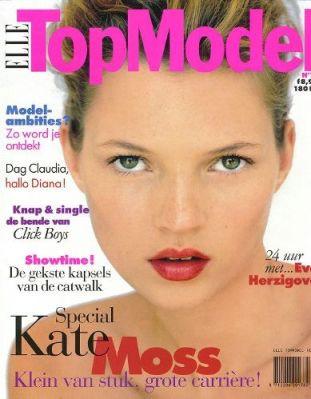 Кейт Мосс, наобложках главных модных журналов планеты. Изображение № 31.