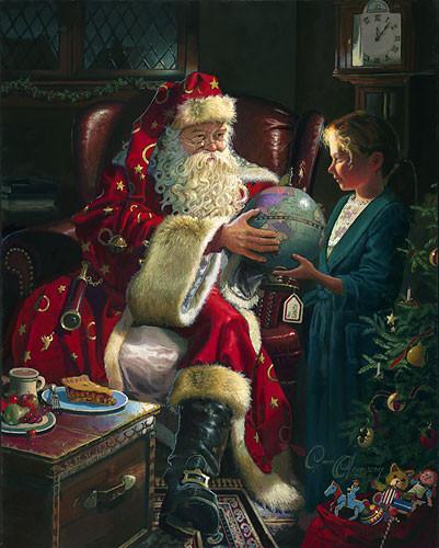 Дедушка, который приносит нам подарки в Новый год. Изображение № 3.