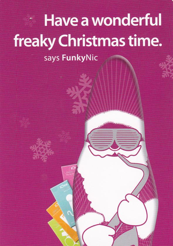 Хипстерский Шоколадный Дед Мороз FREAKY NEW YAER, BABY )). Изображение № 2.