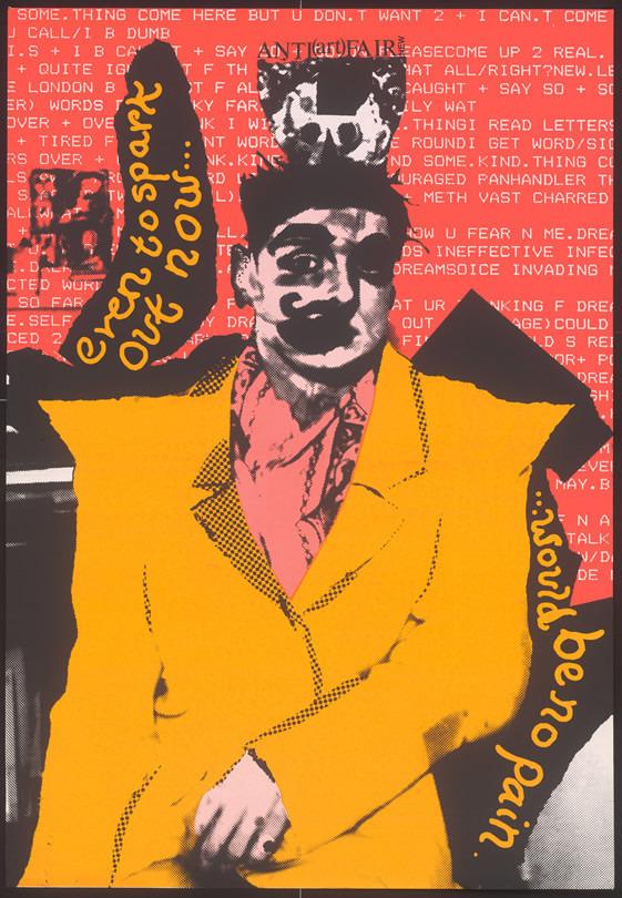 """Рекламный пост """"Антиярмарки искусства"""", Джон Мэйбери, 1986. Изображение № 4."""