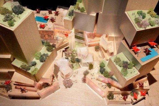 Автор Музея Гуггенхайма представил проект жилого здания. Изображение № 1.