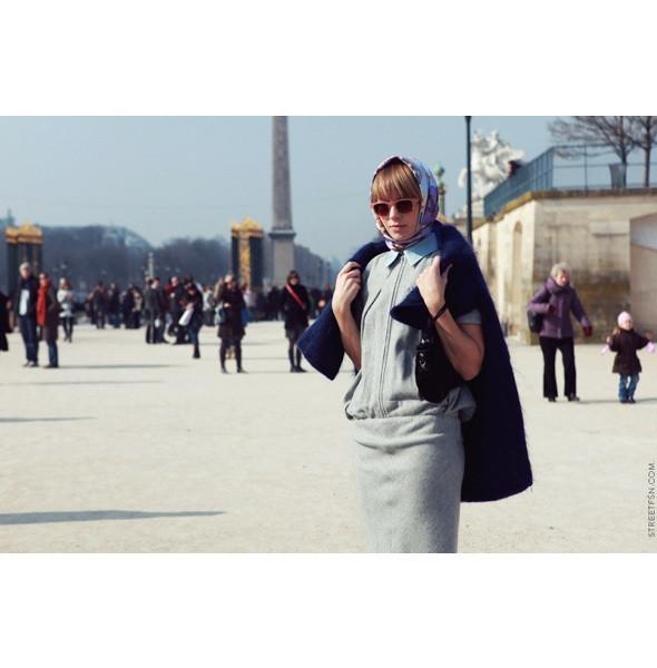 Изображение 17. На полях: 10 тенденций уличного стиля с прошедших недель моды.. Изображение № 17.