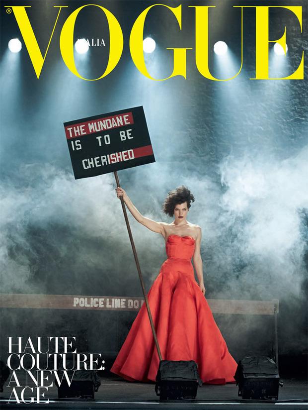 Вышли новые съемки Vogue, i-D, 10 и Interview. Изображение № 47.